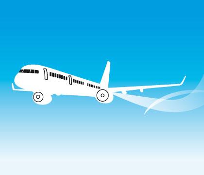 Kun flyreise, Chamonix