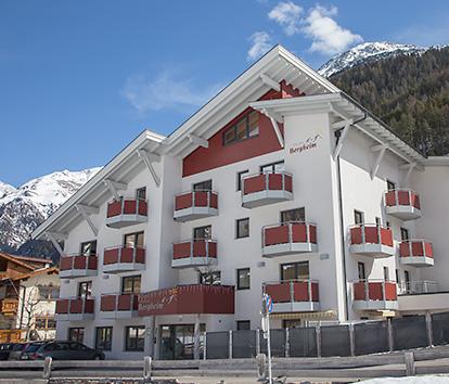 Hotel Garni Bergheim, Sölden