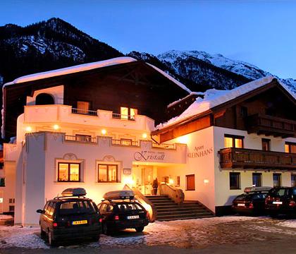 Hotel Garni Kristall, Ischgl