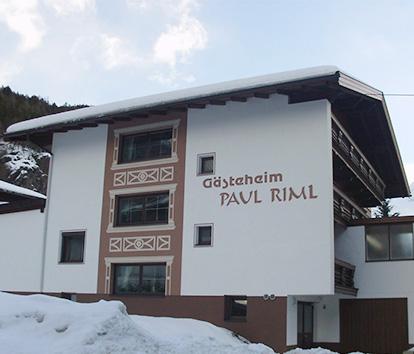 Gästehaus Paul Riml, Sölden