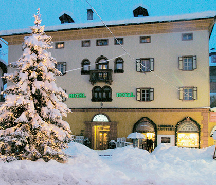 Hotel Royal, Cortina