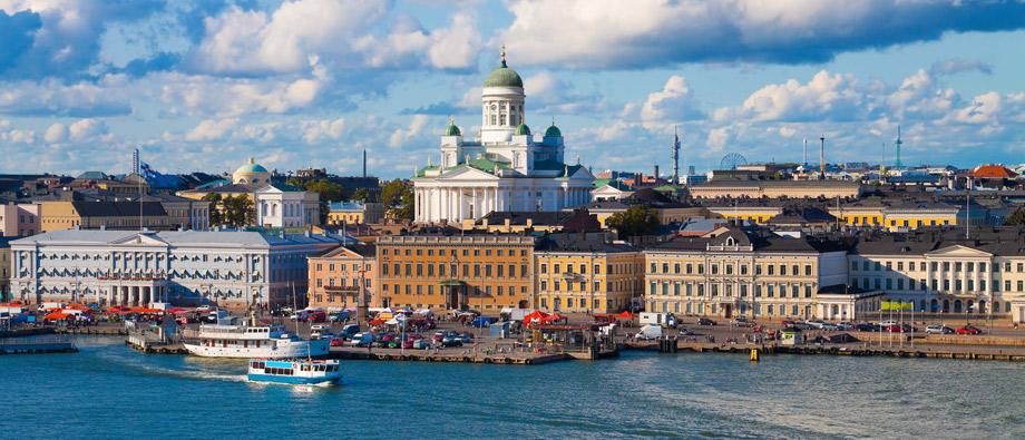 Flybilletter til Helsiki Finland