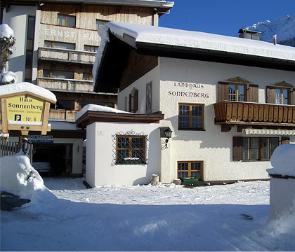 Haus  Sonnenberg, St Anton