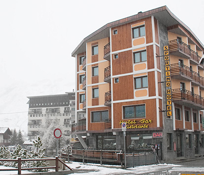 Hotel Sporting, Cervinia