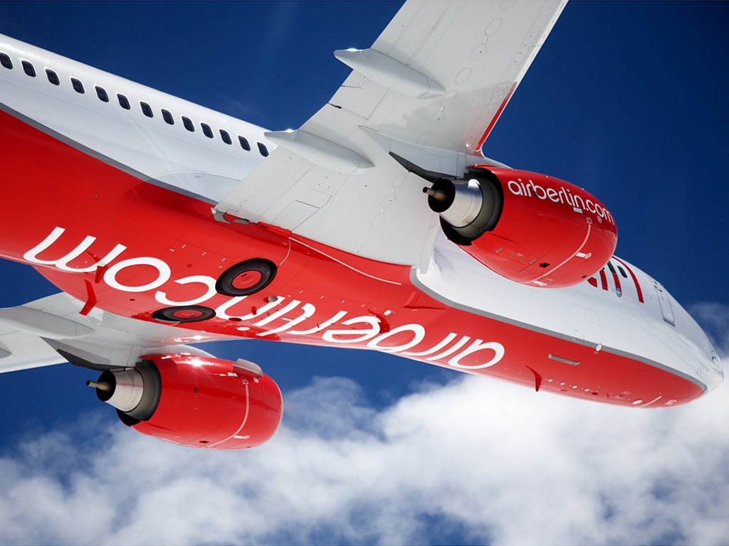 Air Berlin Oslo til Münster