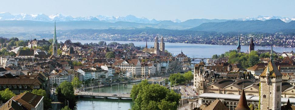 Fly til Zurich