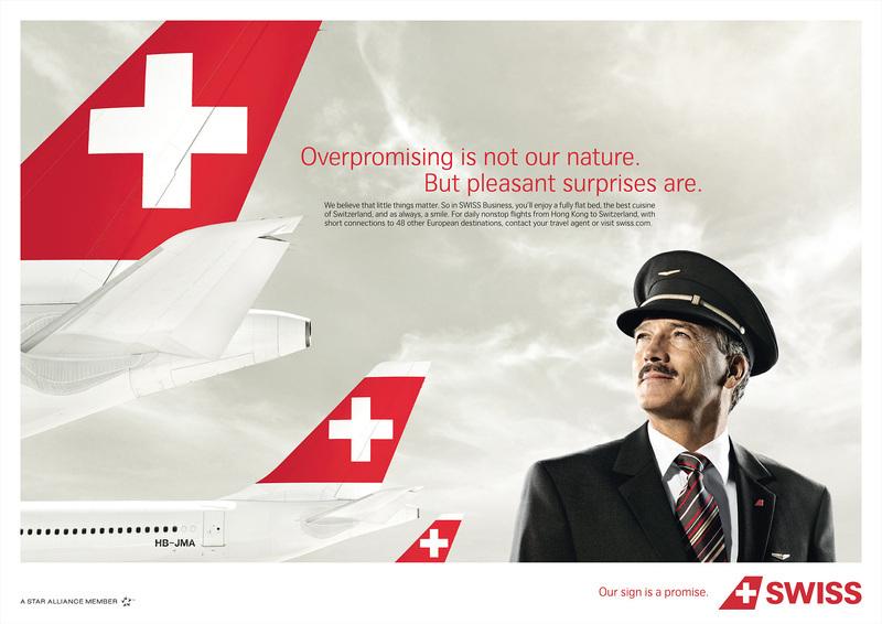 Fly Oslo til Zurich med Swiss Air