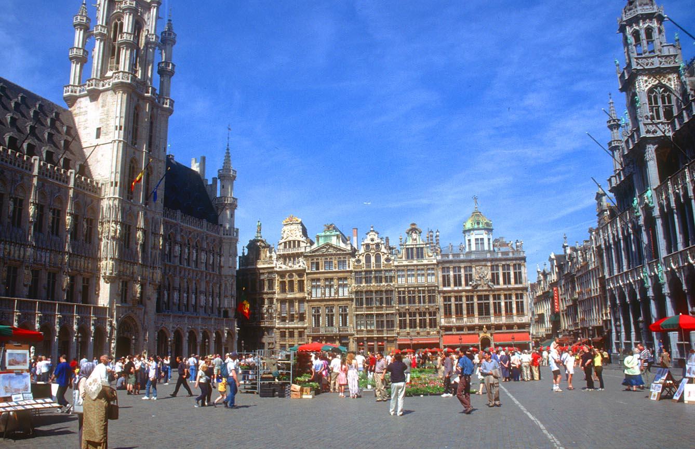 Flybilletter til Brussel