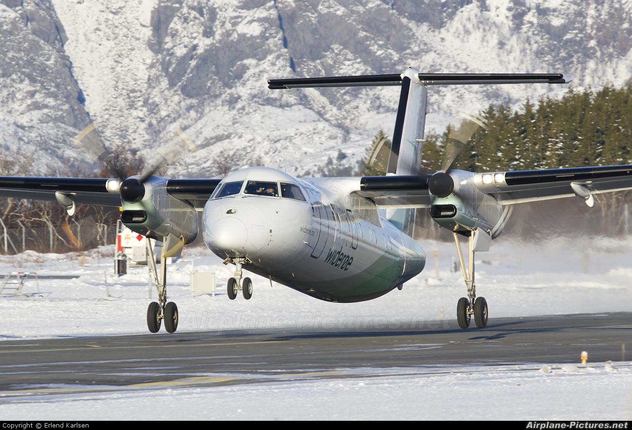 Fly Widerøe til Trondheim